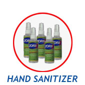 ZORBX Alcohol Free Hand Sanitizer #1160xhs